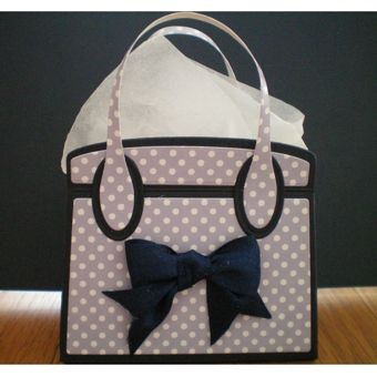 Tonic Studios Kensington Hand Bag Gift Box Die Set 3