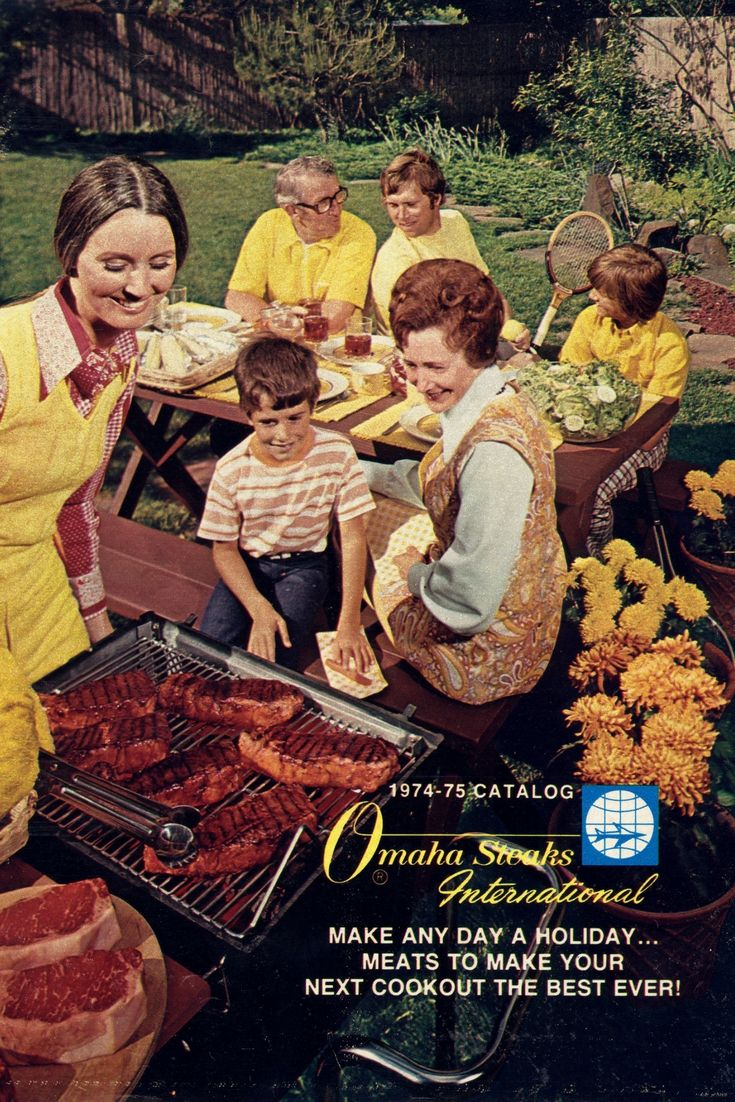 After Lester Simon initiated our first mail order ventures (magazine ads, direct mail flyers, and various mailings) in the 1950's, we mailed our first catalogs in 1963. This fueled Omaha Steaks increasing renown, and soon, the brand would enter its next phase. This photo showcases the cover of a catalog from 1974! 💯  #ACenturyofSteak #100Years #TBT #ThrowbackThursday