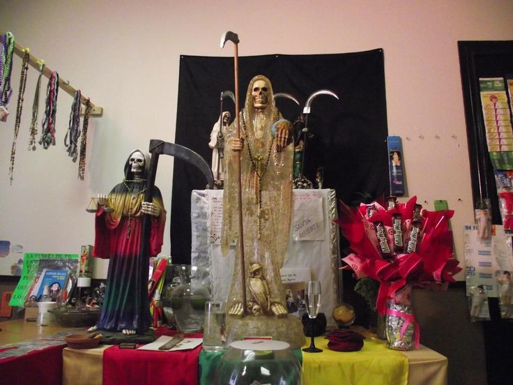 How to Build and Use a Permanent Santa Muerte Altar #SantaMuerte #Altar