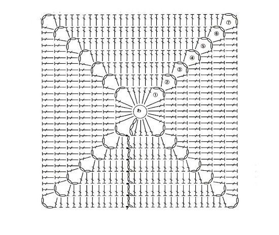 kvadratnaja podstavka pod kruzhku shema