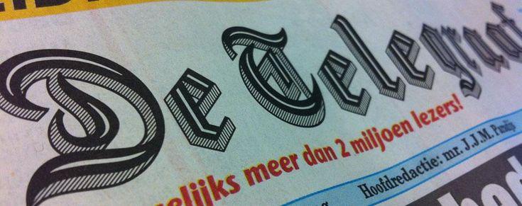 Lettertype krant
