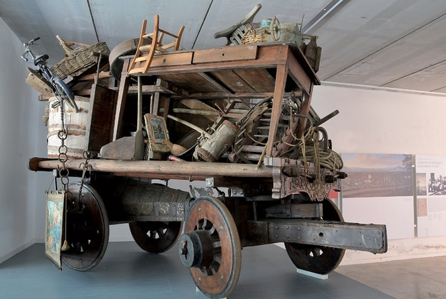 Museo della Civiltà Contadina, carro - Foto di Museirurali by Turismo Emilia Romagna, via Flickr