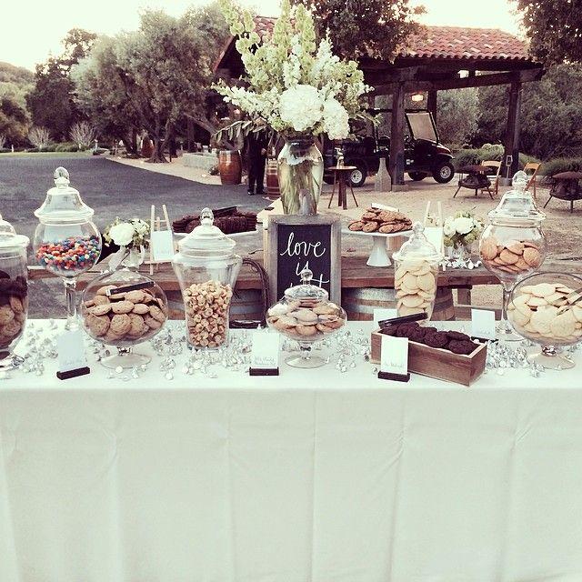 Diy Wedding Cookie Tables