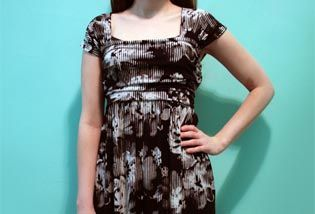 Square Deal Dress - link to free tutorial. Made with rectangles, all to your own measurements