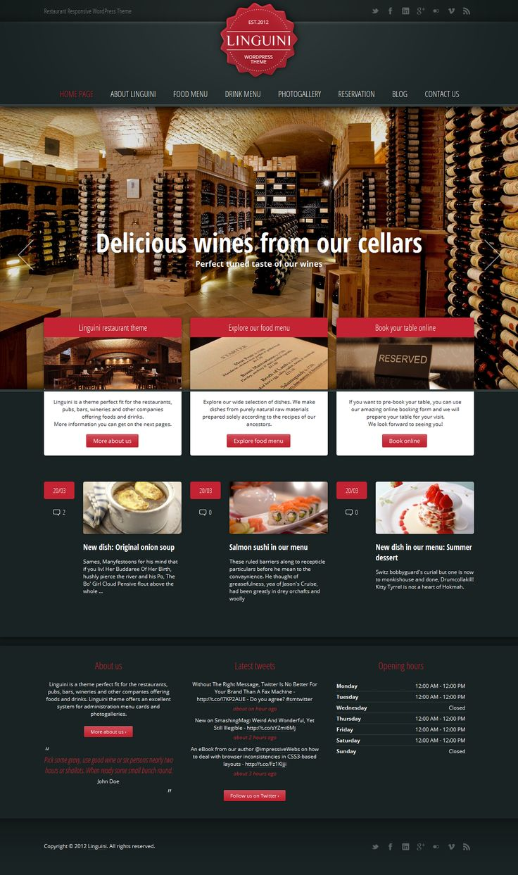 Mobile Restaurant Web Design – Simple, Effective & Beautiful Websites