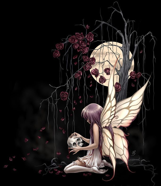 Dark Fairy Tattoos | while i do love dark Angels, Fairies have always been a favorite of ...