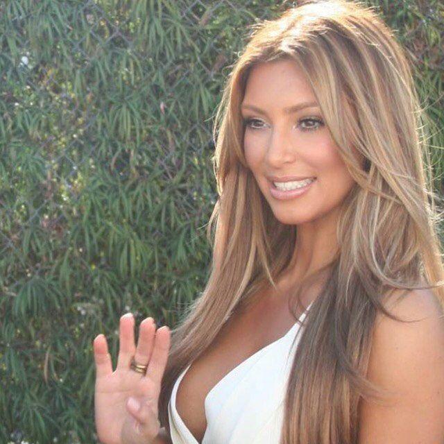 These Are the 15 Best Kim Kardashian Hairstyles According to Kim Kardashian  - MarieClaire.com
