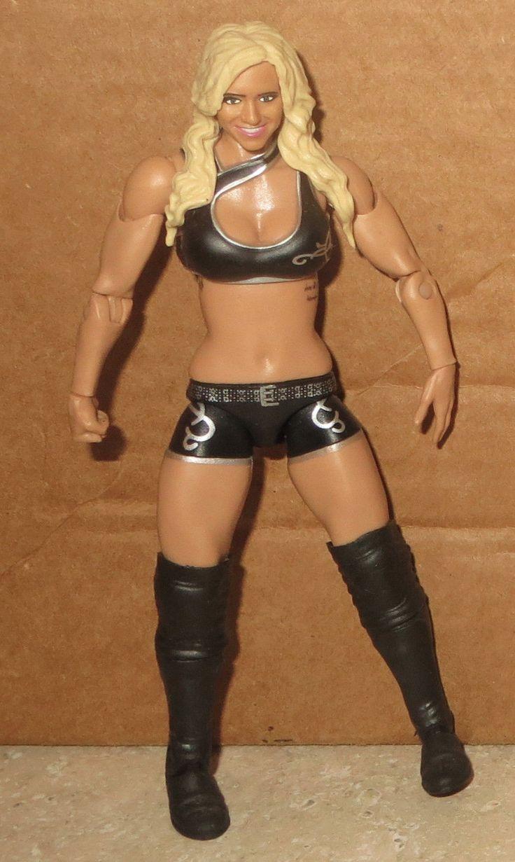 Charlotte WWE Mattel Diva First Wrestling Figure WWF Wrestler Flair Black Gear - http://bestsellerlist.co.uk/charlotte-wwe-mattel-diva-first-wrestling-figure-wwf-wrestler-flair-black-gear/