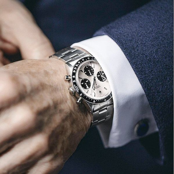 The Rolex Daytona I am wearing was given to me in the late sixties in Monaco for…