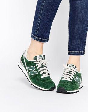 New Balance - 996 - Baskets en daim - Kaki