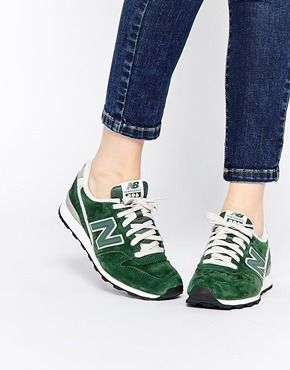 New Balance - 996 - Baskets en daim - Kaki