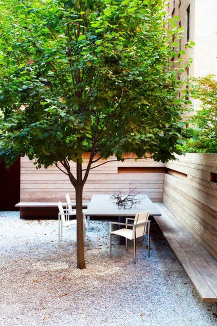banc d'extérieur en bois massif, salons de jardin leclerc, banc de jardin leroy merlin