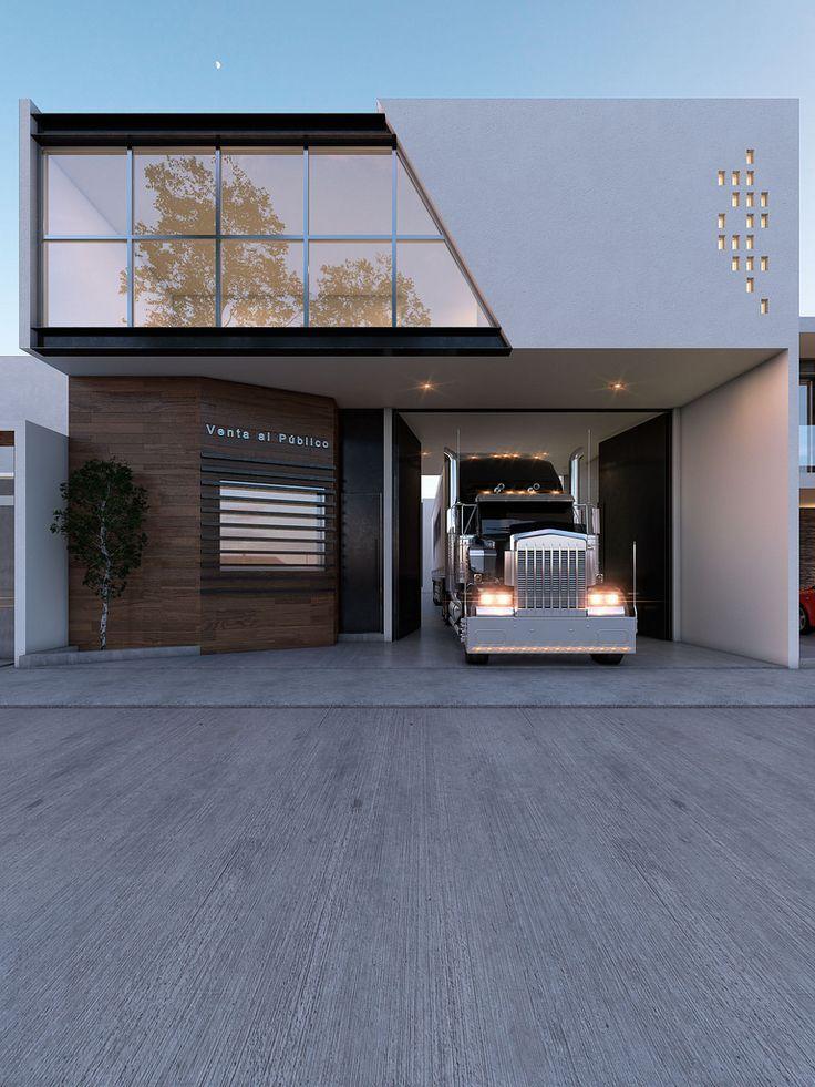 Best 20 residential architecture ideas on pinterest for Fachadas modernas para oficinas