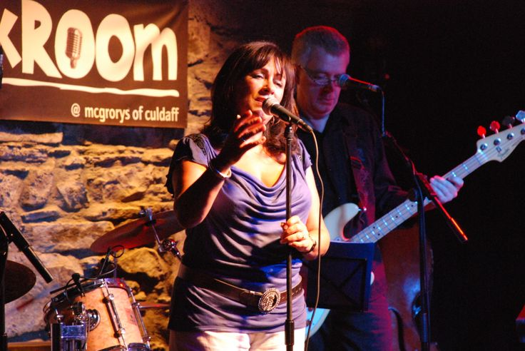 Mary Black performs in The Backroom at Mc Grory's of Culdaff