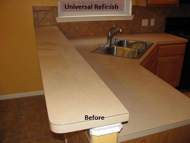 Universal Refinish Provides Quality Countertop Refinishing Services In The Atlanta  GA Area. We Are Licensed And Insured For Counter Top Refinish.