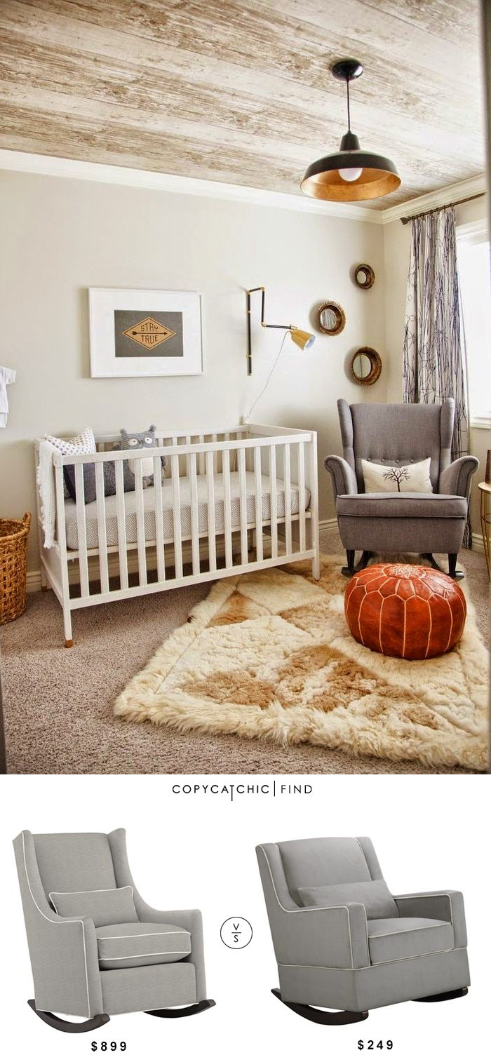 @landofnod Quincy Rocker Chair | $899 Vs @wayfair Baby Relax Sydney Rocking Chair | $249