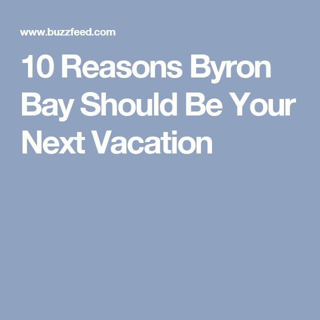 10 Reasons Byron Bay Should Be Your Next Vacation
