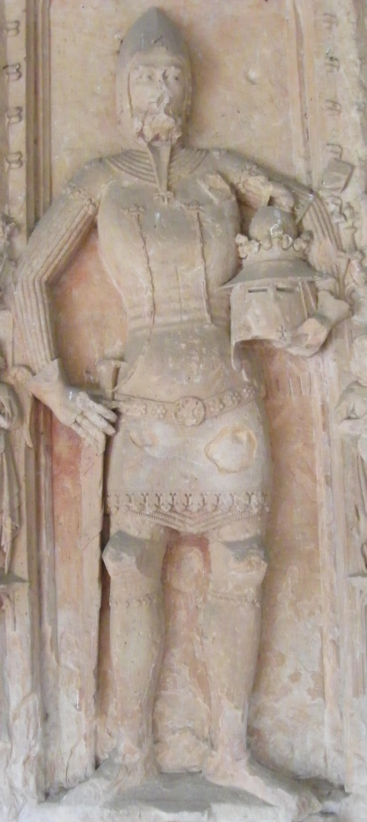 Germany Arnsburg - Kloster Arnsburg Johannes von Falkenstein 1365 148.JPG (1299×2908)