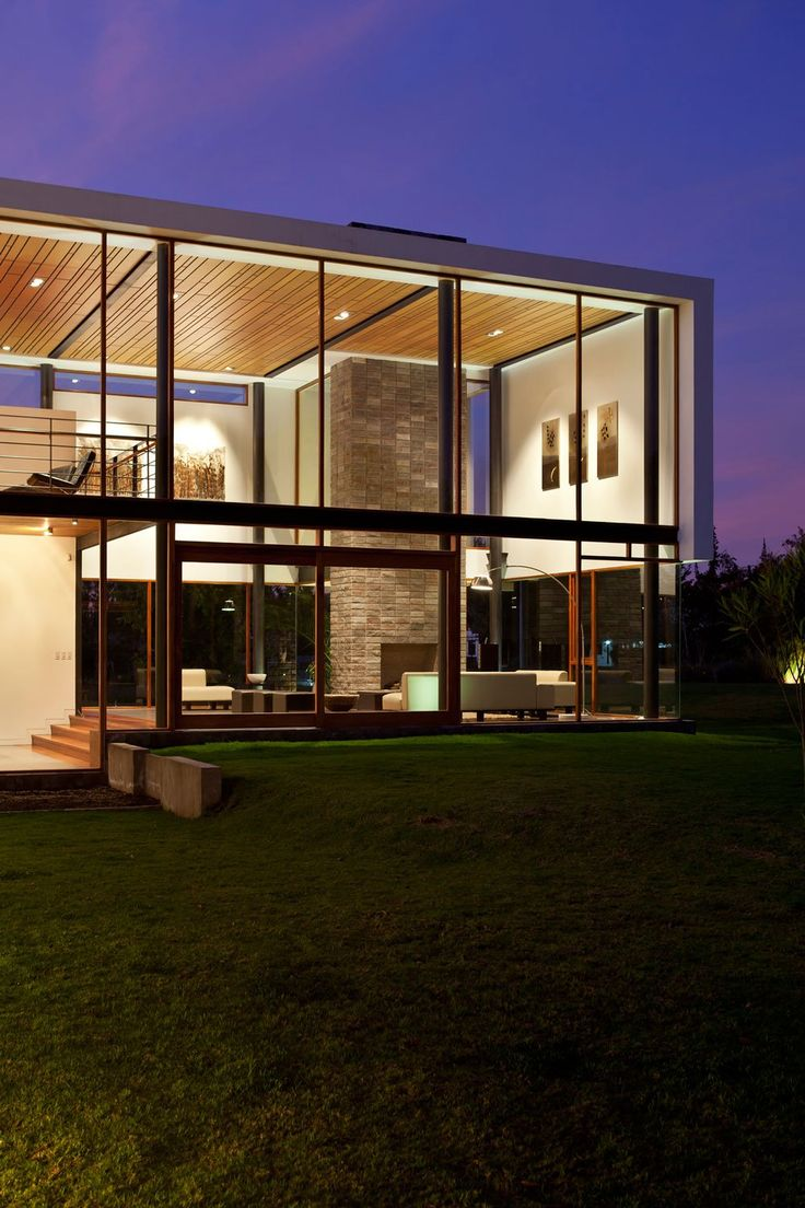 Modern Flat House Design: 44 Best Images About Flat Roof House On Pinterest