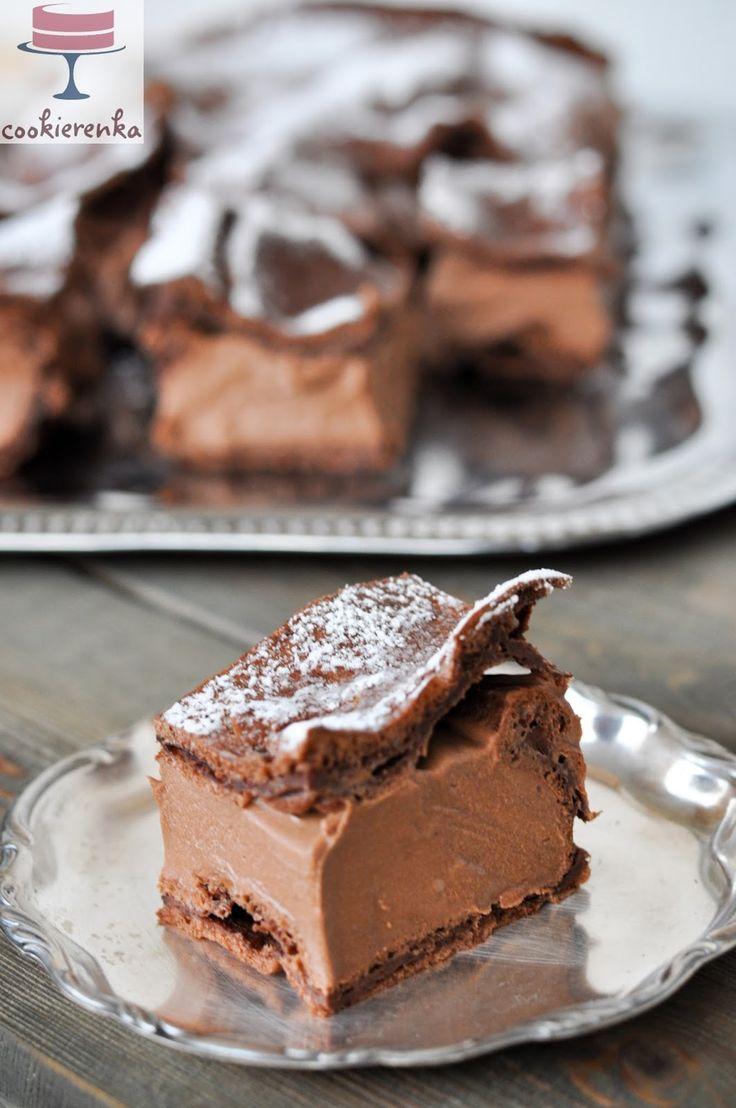 Domowa cookierenka Agi: Karpatka czekoladowa