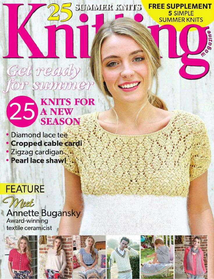 Knitting  June 2015 - 轻描淡写 - 轻描淡写
