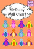Birthday Wall Chart - Decorate the classroom and track birthdays using this great resource