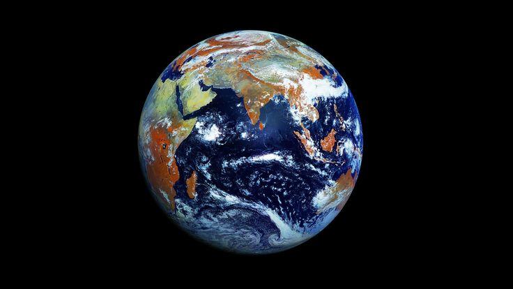 Satélite russo Electro-L apresenta a foto definitiva do planeta Terra.