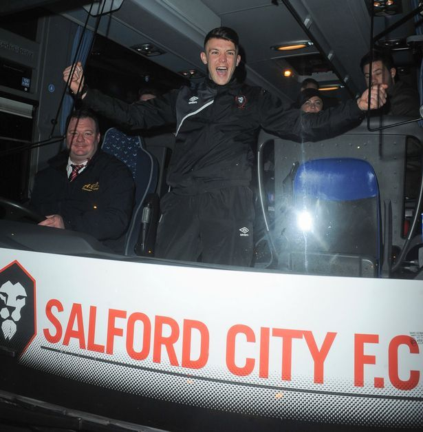 Salford City party into the night with United's Class of '92 after famous FA Cup victory - Manchester Evening News