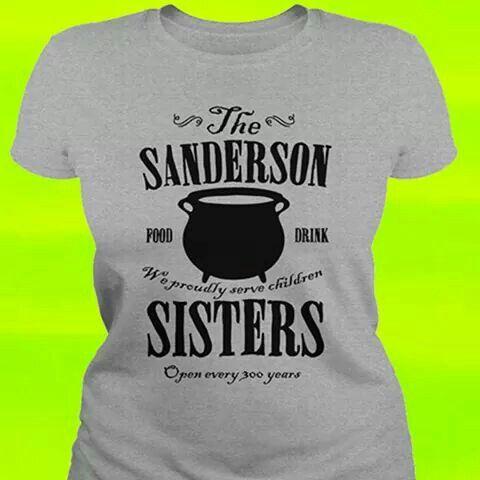 The Sanderson Sisters - Hocus Pocus t-shirt