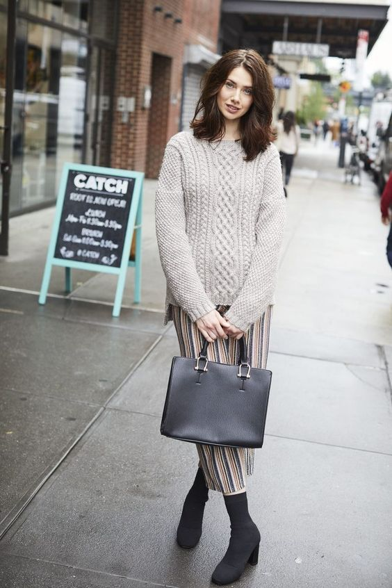 8969d1f3d 45 Knitted Women Sweaters To Look Cool  Knitted Women Sweaters