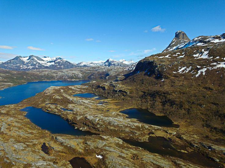 Steigtindvatnet og toppen av Steigtind     http://www.tursiden.no/steigtindvatnet-og-toppen-av-steigtind/