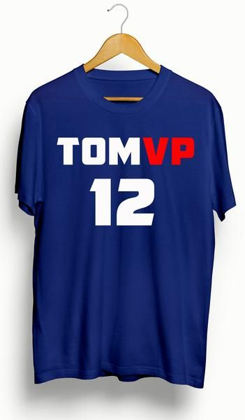 This is a brand new, 100% cotton custom Tom Brady New England Patriots MVP/Super Bowl T-Shirt. Made of high quality vinyl for longevity. You will not find this shirt anywhere else. True to size. If you need another color, message us!