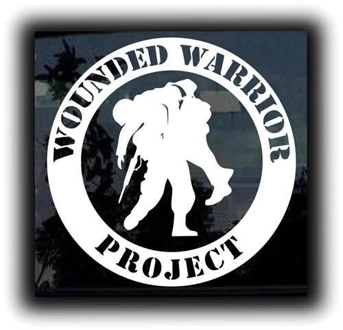 wounded warrior project decal Wounded warrior project decal these are high quality material and can be used indoors or outdoors so get creative and put them wherever you like.