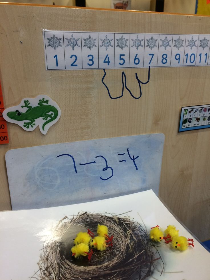 Easter/spring maths in the continuous provision