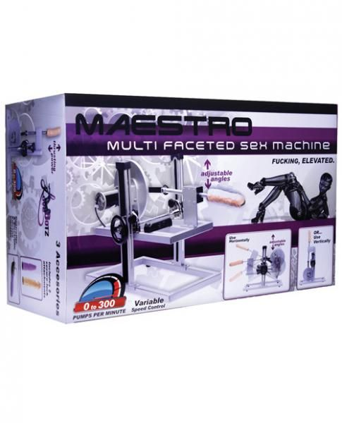 Maestro Deluxe Sex Machine - The Maestro, designed with precision craftsmanship and extreme attention to detail. This premium f*cking machine ...