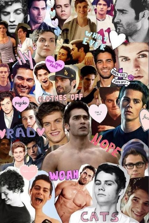 tyler hoechlin dylan o'brien daniel sharman collages - Pesquisa Google