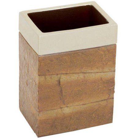 Zenith 4579502145 Zena Stone Tumbler, Natural Stone, Brown