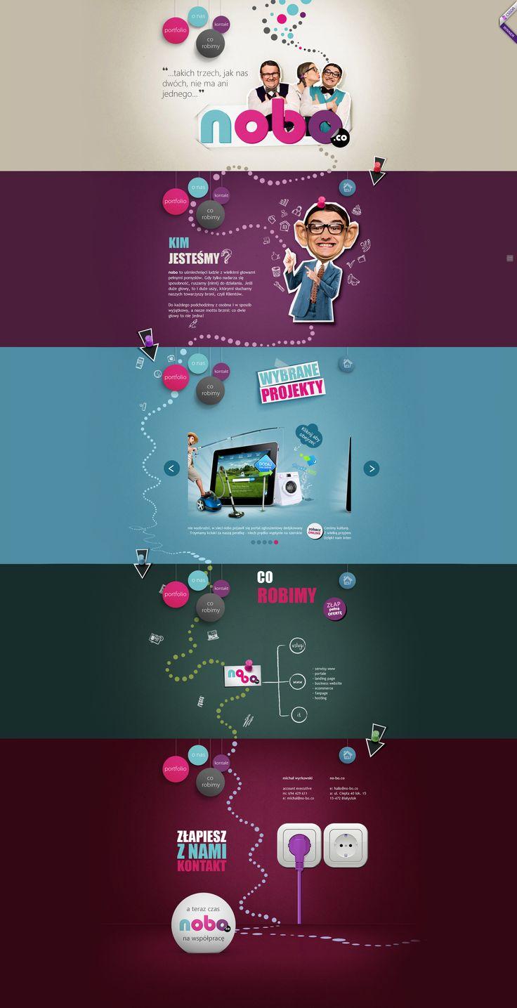 Cool Web Design on the Internet, nobo.co. #webdesign #webdevelopment #website @ http://www.pinterest.com/alfredchong/web-design/