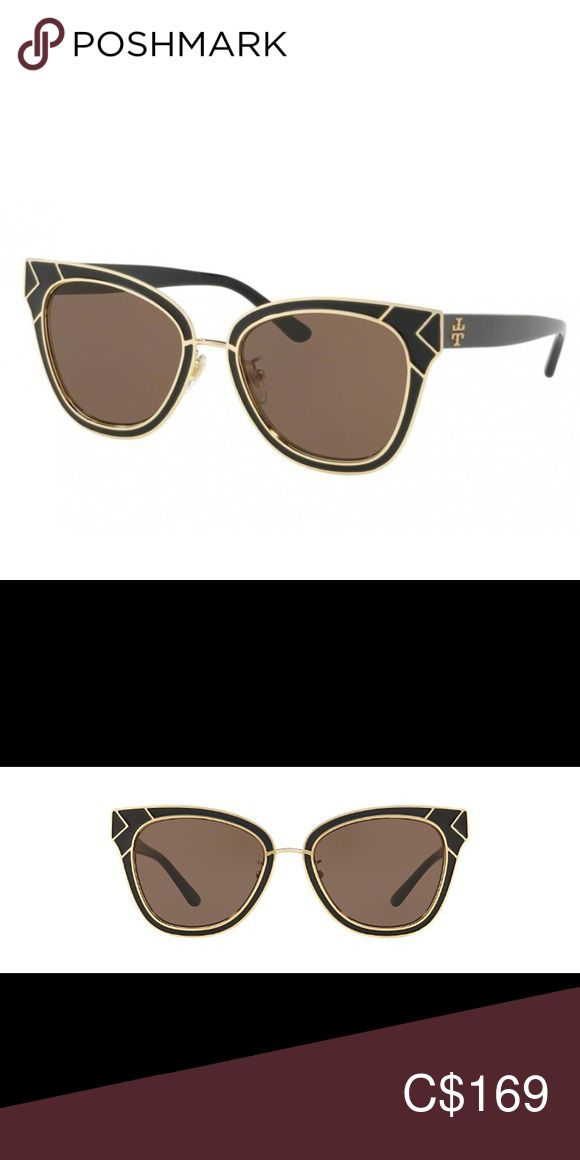TORY BURCH 6061 SUNGLASSES excellent w/ box & case Super stylish Tory Burch sunglasses with case and soft case  PRODUCT DETAILS  Model : 0TY6061 Shape : Square Gender : Female Material : Metal, Stainless Steel COLOR DETAILS  Color Code : 325673 Lens Color : Smoke Solid SIZE DETAILS  Lens Width : 53mm Bridge Width : 19mm Temple Length : 145mm Size : 5319-145 Tory Burch Accessories Sunglasses