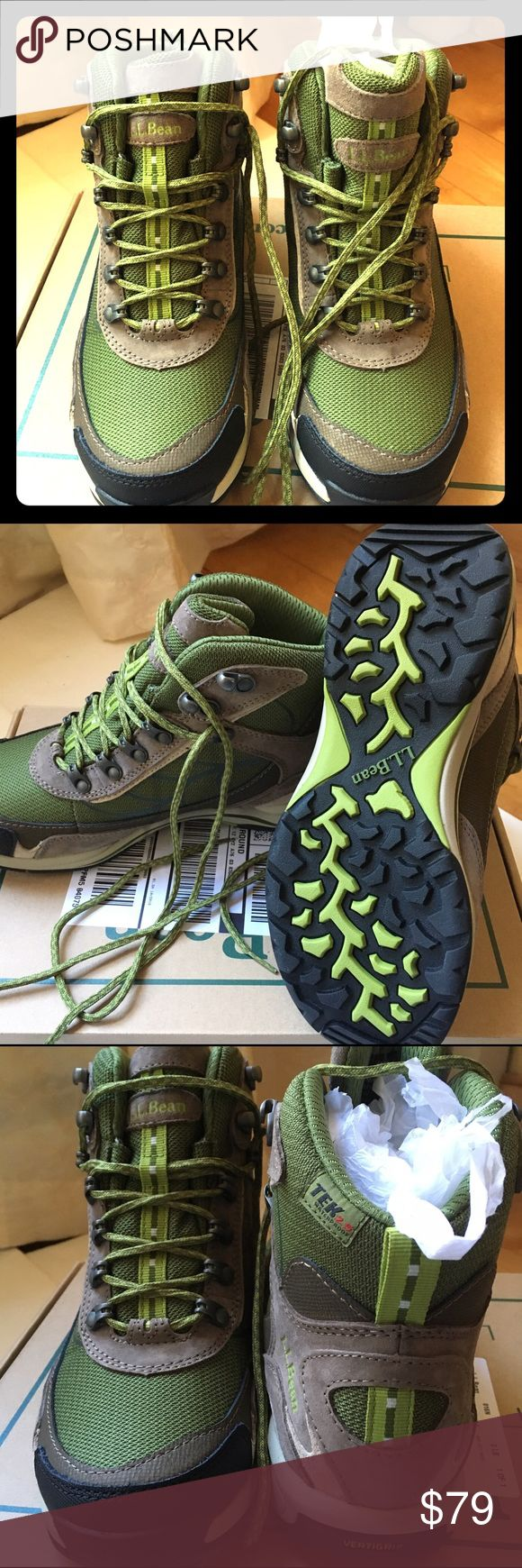 ⭐️NEW L.L. Bean women's hiking boots Brand new in box. TEK 2.5 waterproof hiking boots. Great for the avid hiker. ll bean Shoes Athletic Shoes