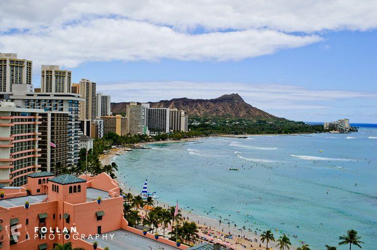 Hawaii - view from Sheraton Hotel Waikiki