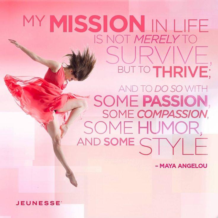 What is your Jeunesse Mission? #JeunesseGlobal #JeunesseLeads #JeunesseMarketing http://ISignMyChecks.com