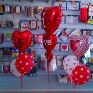 Cuori rossi per gli innamorati