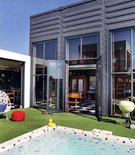 Pretoria East home South Africa via www.houseandleisure.co.za