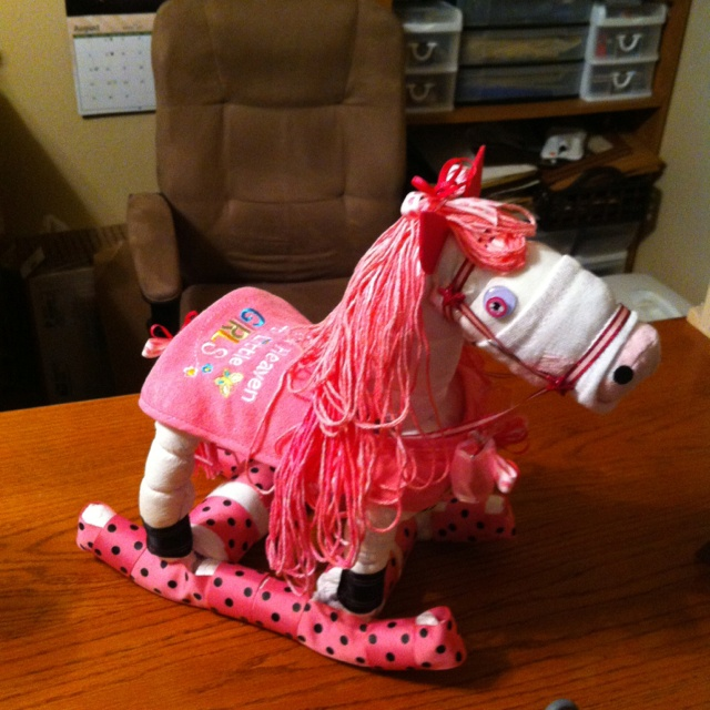 How To Make Rocking Horse Diaper Cake