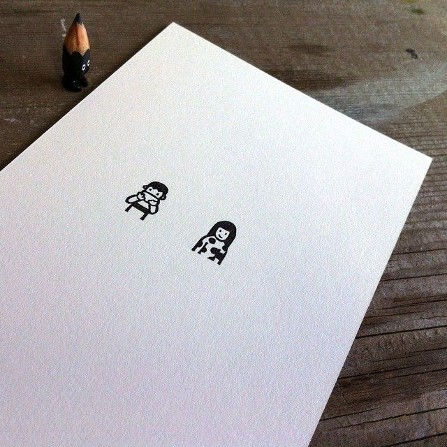 ✏️ #tiny #eraserstamp #rubberstamp #illustration #stationery #paper #etsy #creative #handmade #card #postcard #art #acrylic #artwork #figure #doll #tinydoll #wood #woodcarving #pencil #pencilman #miniature
