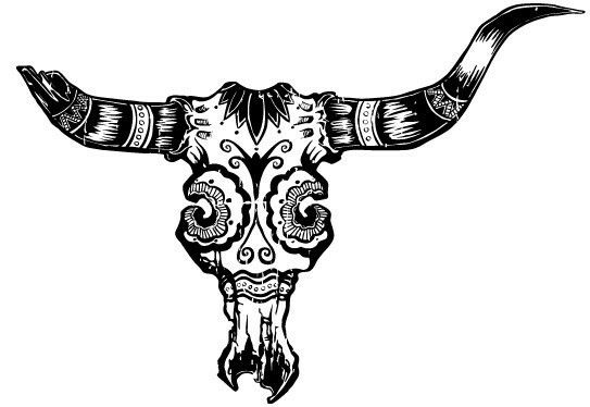 longhorn sugar skull tattoo pinterest skulls sugar and longhorns. Black Bedroom Furniture Sets. Home Design Ideas