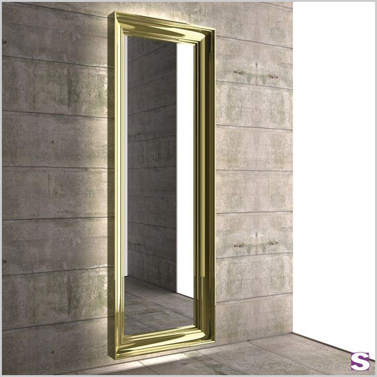 Design Garderobenheizkörper Videre aus Aluminium mit Spiegel - SEBASTIAN e.K. – Spieglein, Spieglein. – Mit seinem elegant gerundeten Rahmen verschönert Videre jeden Eingangsbereich. Unser Garderobenheizkörper vereint Heizkörper und das klassische Design eines Spiegels. Auf Wunsch lässt sich auch ein Beleuchtungssystem installieren. Videre wird somit zum idealen Dekoelement in Ihrem Eingangsbereich. Außerdem ist der Heizkörper auch hervorragend für Bade- oder Schlafzimmer geeignet.