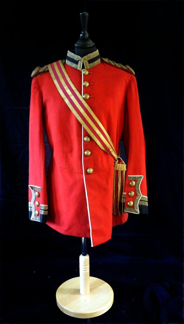 Original Edwardian staff officers tunic