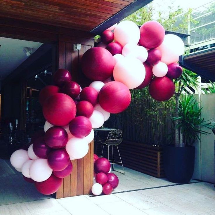 "458 Likes, 18 Comments - @belleballoons on Instagram: ""This colour combo  #enagement #eventsmelbourne #engagementballoons"""